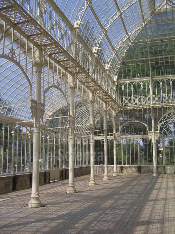 Immagine l 39 interno del tepidario del giardino dell 39 orticolt for Interno delle piantagioni del sud