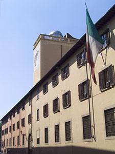 Façade of the Istituto Geografico Militare , Florence.