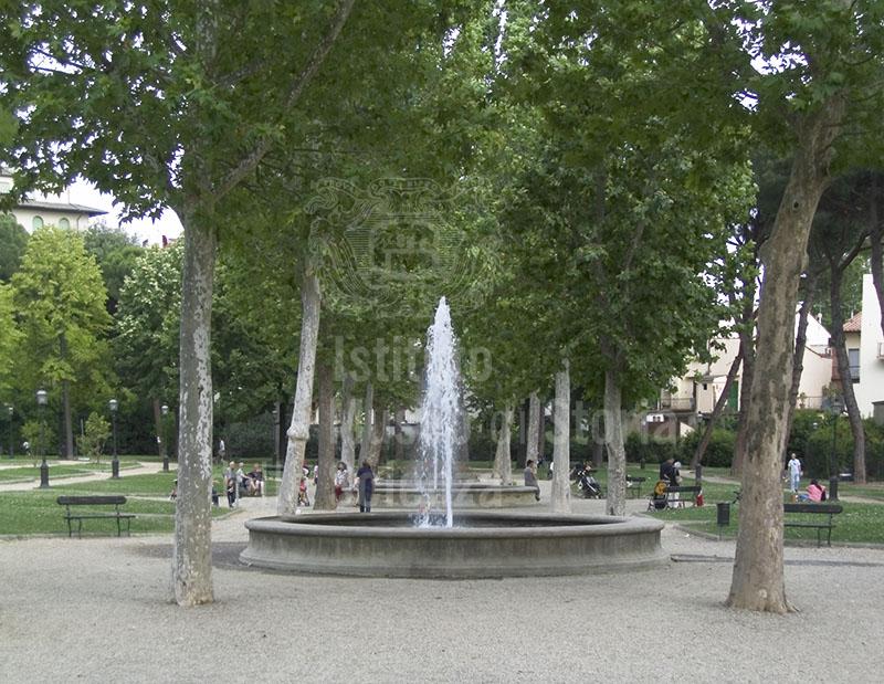Una delle fontane del Giardino dell'Orticultura, Firenze.