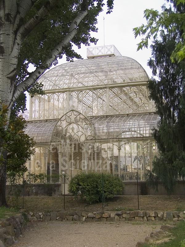 Il tepidario del Giardino dell'Orticoltura, Firenze.