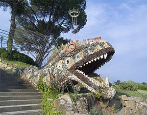 The Orti del Parnaso Garden, Florence.
