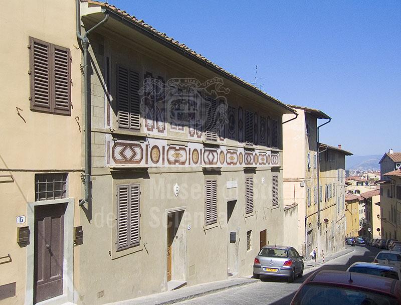 Immagine casa di galileo galilei di costa san giorgio fire for Casa della piastrella firenze
