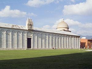 Particolare del Camposanto Monumentale di Pisa.