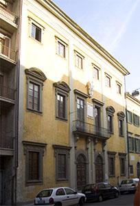 Facade of the Domus Galilaeana, Pisa.