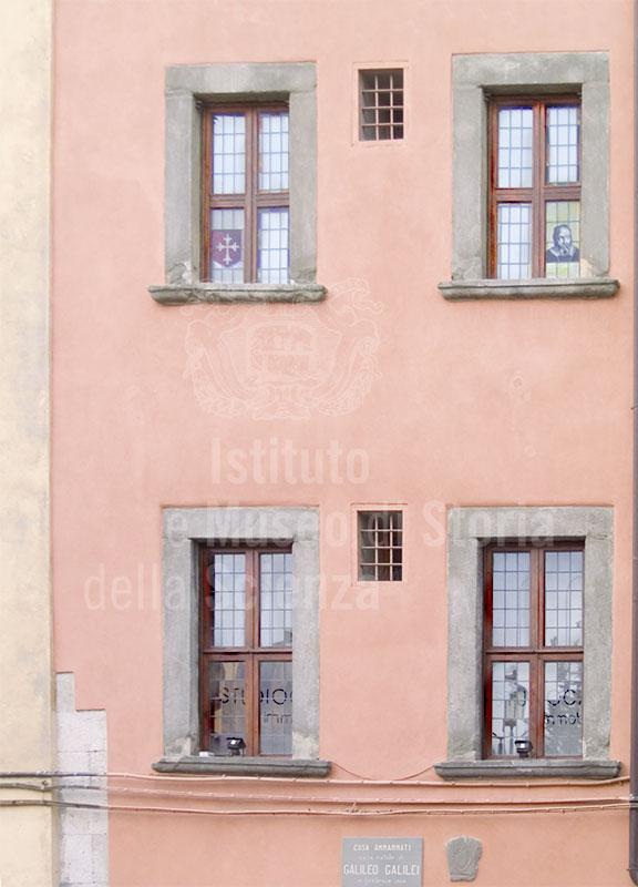 Casa natale di Galileo Galilei (casa Ammannati), Pisa.