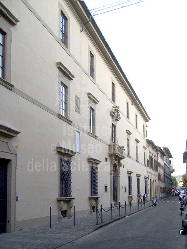 Facade of Palazzo della Gherardesca, Florence.