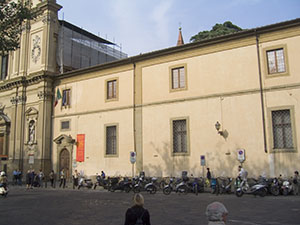 Facade of the Museum of San Marco, Florence.