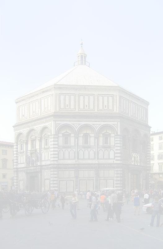 Il Battistero di Firenze.