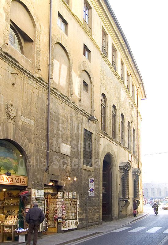 Facciata di Palazzo Guicciardini, Firenze.