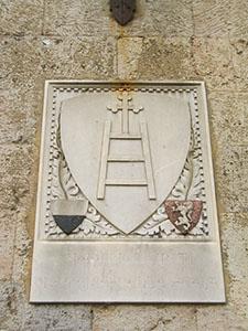 Stemma del Santa Maria della Scala, Siena.
