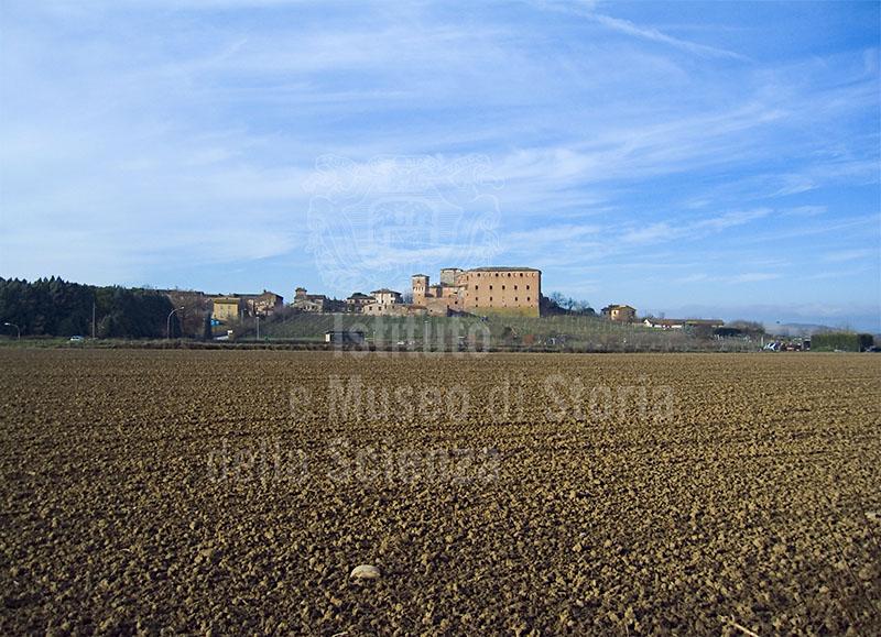 La Grancia di Cuna e la campagna circostante, Monteroni d'Arbia.