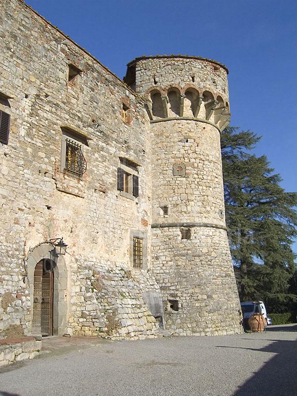 Castello di Meleto, Gaiole in Chianti.