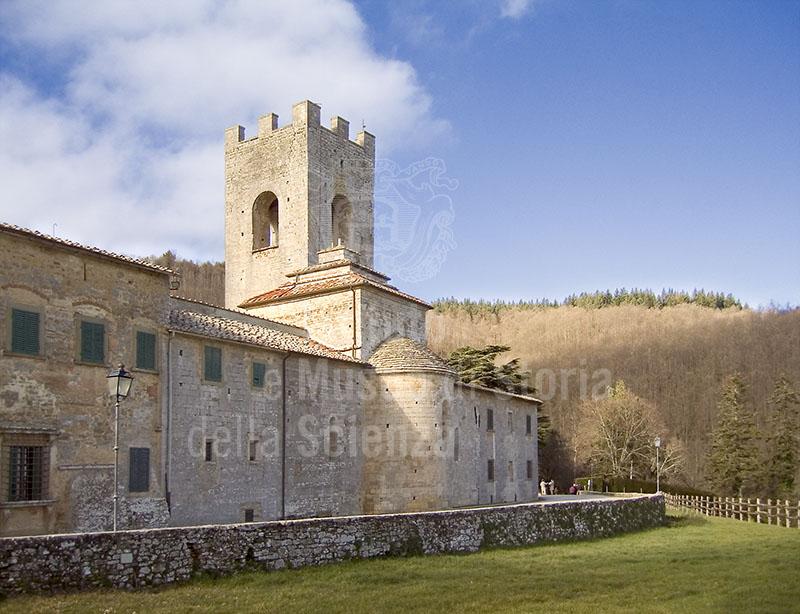 Abside dell'Abbazia di S. Lorenzo a Coltibuono, Gaiole in Chianti.