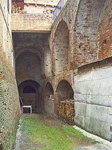 Interior of the Cuna Grange, Monteroni d'Arbia.