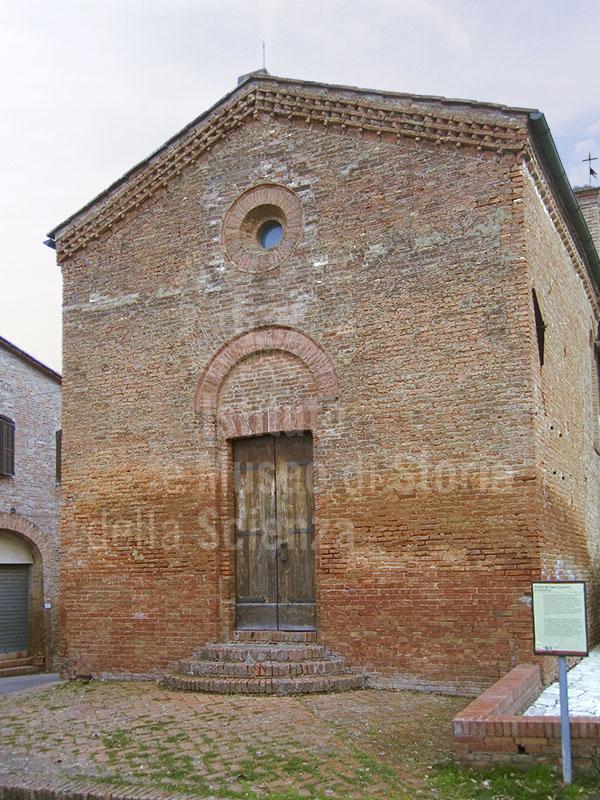 Chiesa di S. Jacopo e Cristoforo attigua alla Grancia di Cuna, Monteroni d'Arbia.