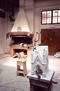 "The Laboratorio dell'Opera di Santa Maria del Fiore (the ""Historic workshop""), situated in Via dello Studio, in which the decorations on the Cupola and the Cathedral of Florence are restored and rebuilt."