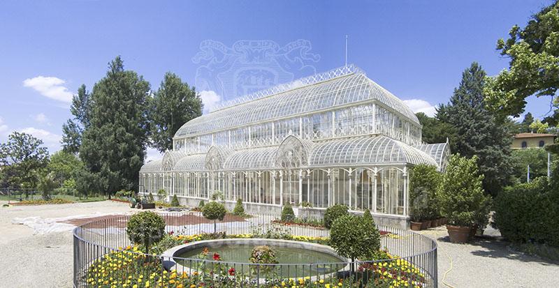 Immagine il tepidario del giardino dell 39 orticoltura firenz - Giardino dell orticoltura firenze ...