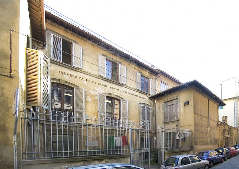 Esterno dell'Ex Ospedale di Orbatello, Firenze.