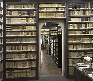 La Biblioteca del Convento dell'Osservanza, Siena.