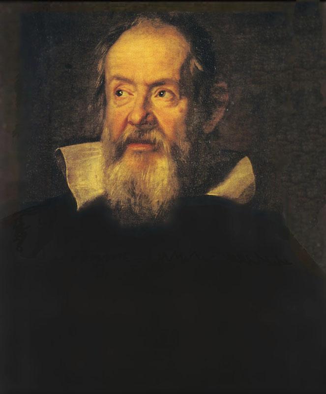 Ritratto di Galileo Galilei. Olio su tela di Justus Suttermans, 1636.