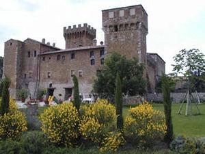 Castello di Spedaletto, Pienza.