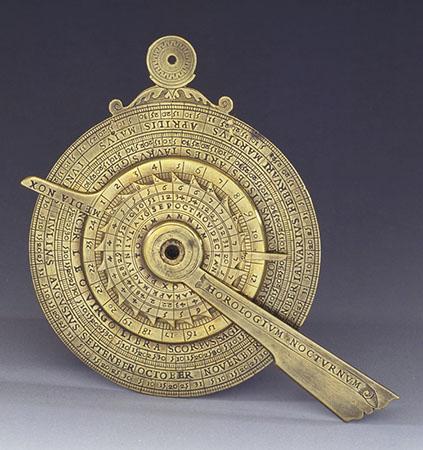 Girolamo della Volpaia, Notturnale e quadrante orario