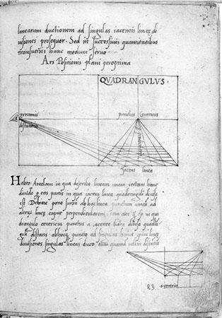 Leon Battista Alberti, De pictura e Elementa picture
