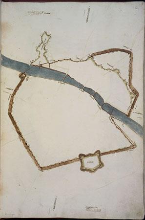 Giovan Battista Belluzzi e Anonimi del XVI secolo, Piante di città e fortezze