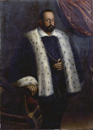 Scipione Pulzone, Ritratto di Francesco I de' Medici (copia)