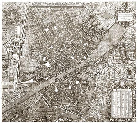 Stefano Buonsignori, Nova pulcherrimae civitatis Florentiae topographia accuratissime delineata<br/>