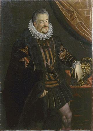Scipione Pulzone, Ritratto di Ferdinando I de' Medici (copia)