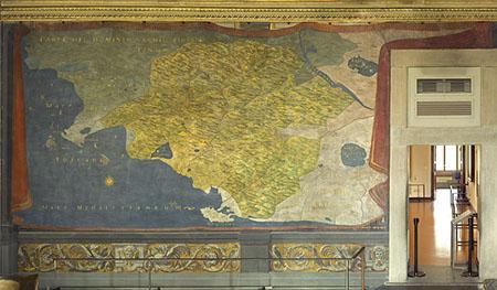 Ludovico Buti e Stefano Buonsignori, Carta del Dominio senese