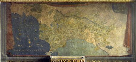 Ludovico Buti e Stefano Buonsignori, Carta del Dominio vecchio fiorentino