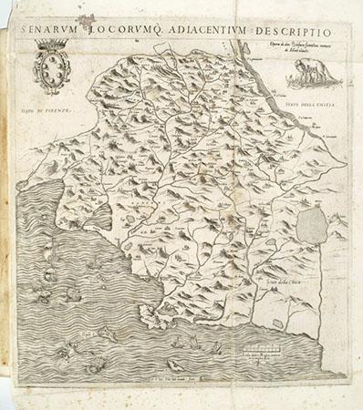 Stefano Buonsignori, Senarum locorumque adiacentium descriptio