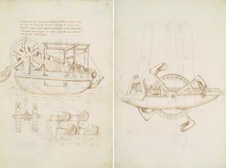 Cosimo Bartoli, Raccolta di varie macchine