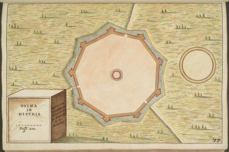 Matteo Neroni, Piante di città e fortezze