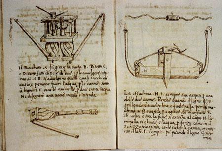 Girolamo Magi, Ingegni e invenzioni militari
