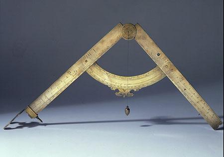 Galileo Galilei, Compasso geometrico e militare