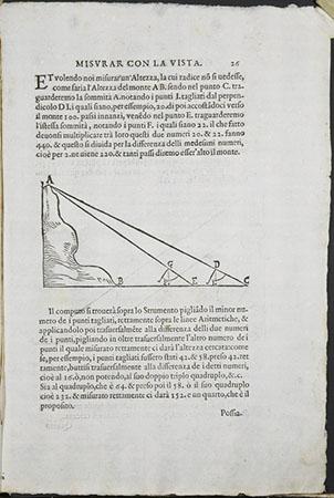 Galileo Galilei, Le operazioni del compasso geometrico et militare