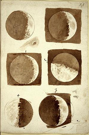 Galileo Galilei, Fasi lunari