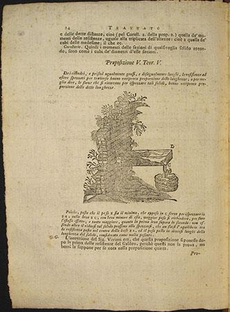 Guido Grandi, Trattato delle resistenze principiato da Vincenzio Viviani per illustrare le opere del Galileo ed ora compiuto e riordinato colla giunta di quelle dimostrazioni che vi mancavano dal p. d. Guido Grandi