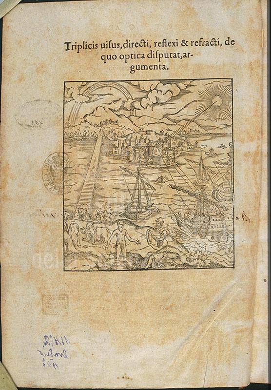 ALHAZEN & WITELO, Opticae thesaurus ..., Basilea, 1572